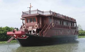 Mekong Feeling har mycket trevliga båtar.