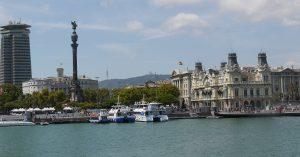 Där La Rambla slutar startar båtutflykterna