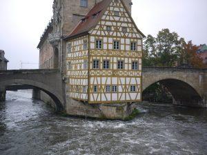Stadshuset i Bamberg är nog staden mest avbildade byggnad.