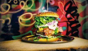 Så här ska en riktig hamburgare se ut!