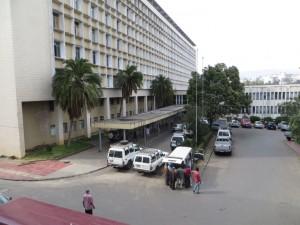 Black Lion är Etiopiens största sjukhus.