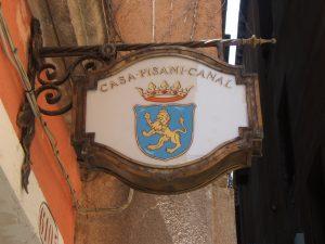 Casa Pisani Canal har bara fem rum och ingen personal.