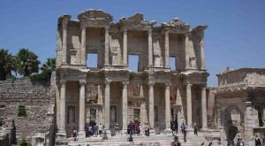 Celcius bibliotek var det tredje största i världen på sin tid.