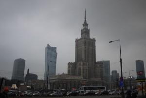 Palace och Culture and Science reser sig rätt hotande över Warszawa och det var säkert meningen när Stalin skänkte det.