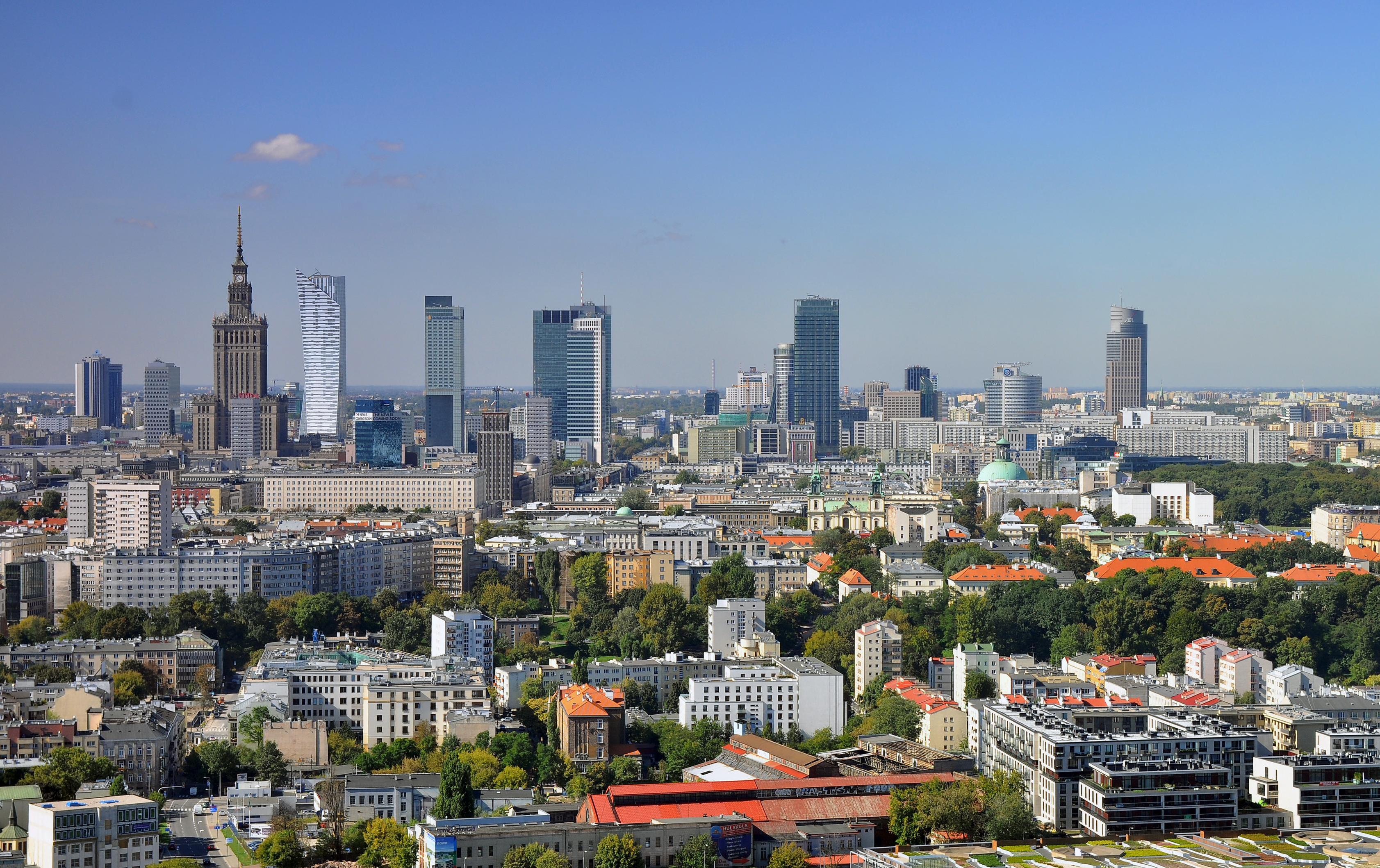 Warszawa är en härlig storstad med en skön blandning av gammalt och nytt.