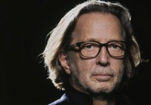 Eric Clapton på sitt senaste omslag.