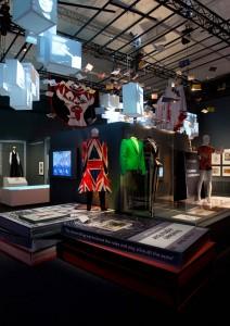 Utställning om David Bowie.