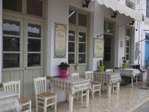 Restaurangen Deka ligger i Perdika i Grekland.
