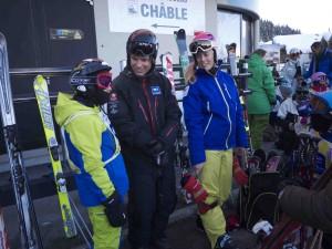 Två av European Snowsports duktiga svenska lärare.