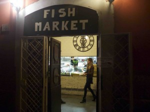 Fish Market i Rom serverar bara fisk, men vilken fisk!