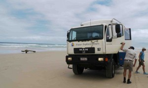 Fraser Island är världens största sandö.