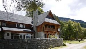 Futulaufquen är ett annat legendariskt bergshotell.