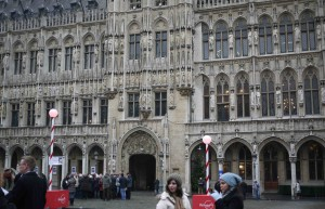 La Grand Place i Bryssel.