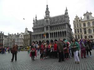 Sen resa till Bryssel är väl använd poäng.