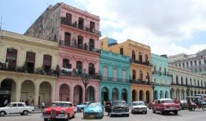 Just de här husen dyker ständigt upp i artiklar från Havanna. Så här ser inte de typiska husen ut...