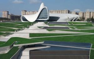 Häftigt museum i Baku av alla ställen.