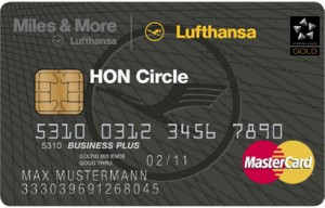 Lufthansas finaste kort.
