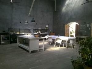 Köket på Calle Consulado.