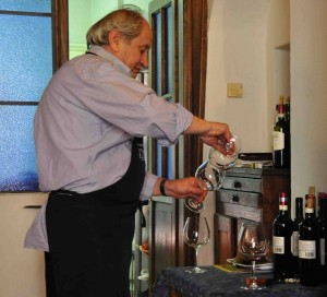 På Il Rossellino behandlas såväl mat som vin med vördnad.
