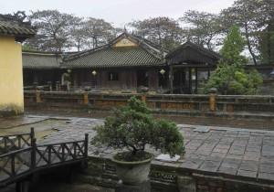 Kejsarmoderna rekreationspaviljong var i mina ögon  den vackraste delen av den kejserliga staden i Hue.