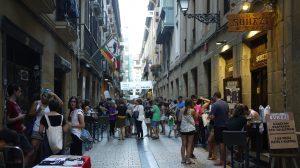 Partygatan Juan de Bilbao.
