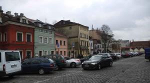 Helena Rubinstens födelsehus i Krakow.
