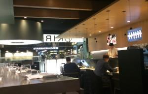 Kirei på Madrids flygplats.