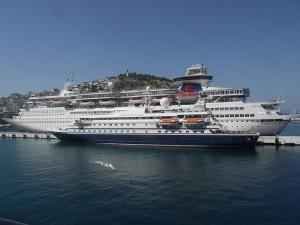 Kryssningsfartyg i Turkiet.