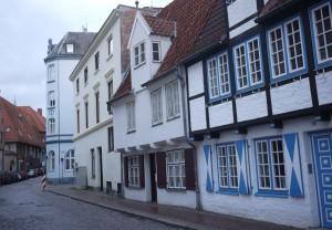 Gamla hus är det gott om i Lübeck.
