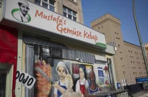 Mustafas serverar Berlin bästa kebab.
