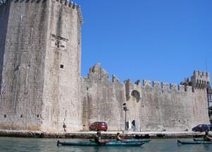 Paddling i världsarvet Trogir.