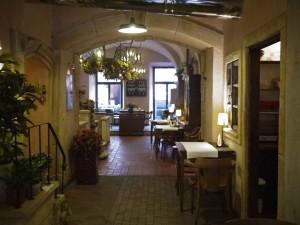 Restaurangen Papryczki 5 i Krakow.