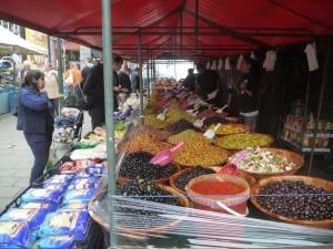 Marknaden på Place Jourdan.