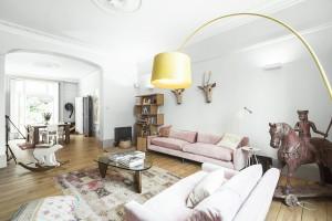 Den här lägenheten i Regents Park i London rymmer sju personer och du kan hyra den för 5 000:- per natt.
