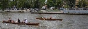 Hyr gärna en klassisk roddbåt.