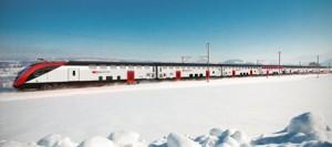 Tåg är ett perfekt sätt att ta sig från flygplatsen till Mürren.