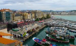 En del av råvarorna till det baskiska köket kommer direkt från havet.