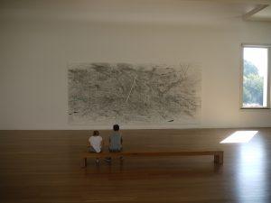 Det moderna museet är också en spännande del av Serralves. Här är det en utställning av den etiopiskfödda konstnärinnan