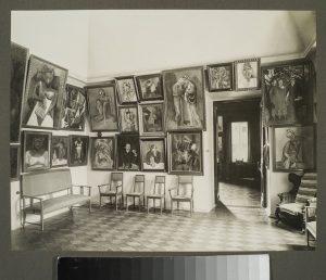 Så här så det ut på väggarna hos den ryske konstsamlaren Shchukin i början av 1900-talet.