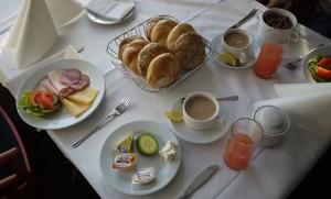 Sjöfrukost på M/S Scandinavia.