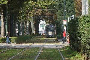Spårvagn är ett annat utmärkt sätt att ta sig fram i Bryssel.