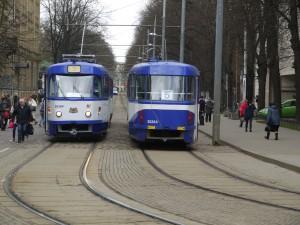 Flerdagarskortet gäller på all kollektivtrafik i Riga.