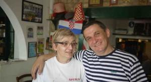 Paret som driver Restaurang Sperun gör ett bra jobb.