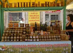 Inläggningar och marmelader är man bra på i Split.