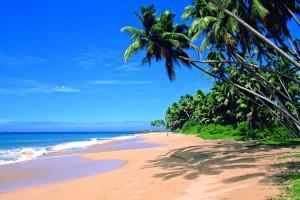 Det är gott om stränder på Sri Lanka.
