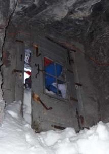 Den magiska dörren Stellenloch.