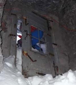 Den magiska dörren Stollenloch.