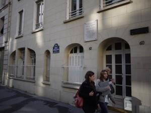 Bakom de här dörrarna var Strindberg övertygad om att han skulle bli mördad.
