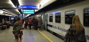 Tåget mellan Warszawa och Berlin tar lite drygt 5 timmar och är ett behagligt sätt att ta sig mellan de båda städerna.