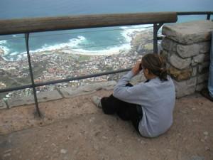 Utsikten från Table Mountain är inte dum.